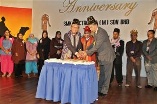 SMK Annual Dinner 2011 - Opening ceremony by MD, Mr. Nitchu Hajime and Mr. Shishido Masahiro
